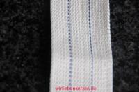 Lampendocht aus 100% Baumwolle 42 mm Breite hart