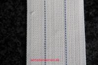 Lampendocht aus 100% Baumwolle 66 mm Breite hart