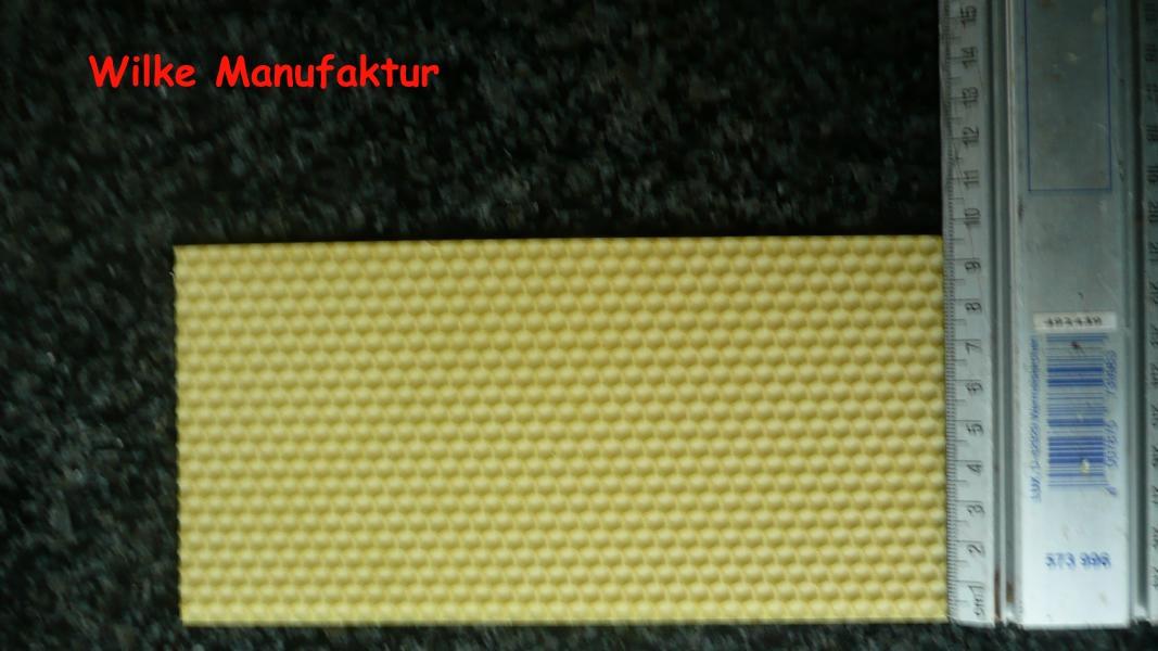 Bienenwachsplatten zum Basteln 195 mm x 95 mm (Stückpreis)