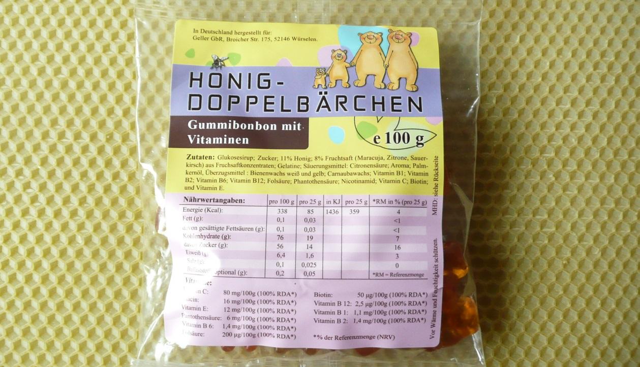 Honig Doppelbärchen 100 g