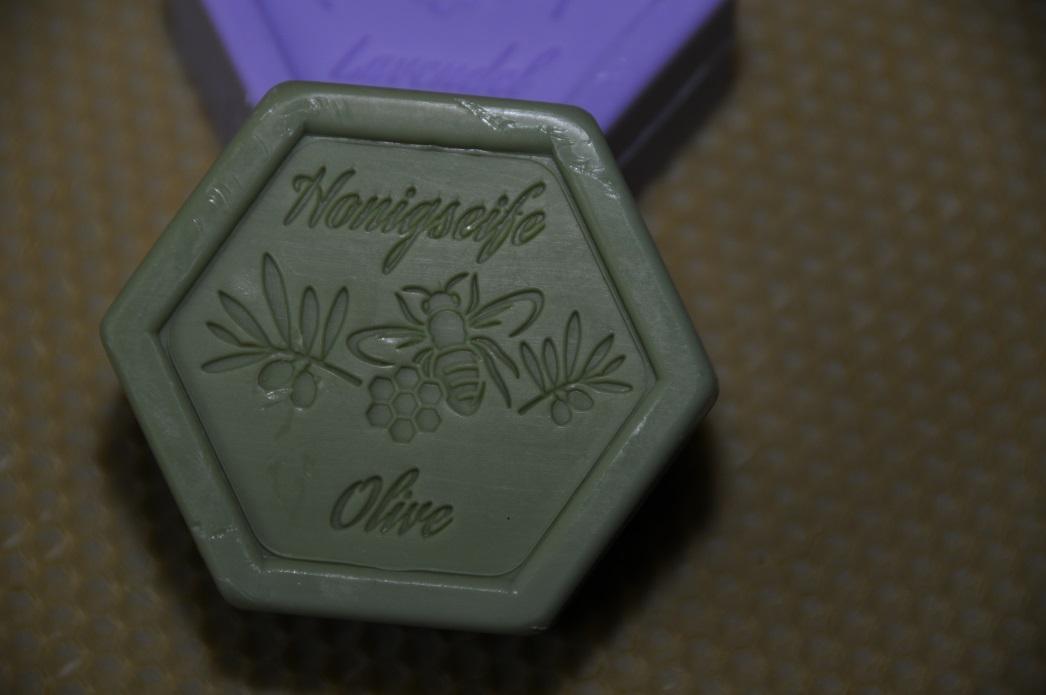 Honigseife mit Olive