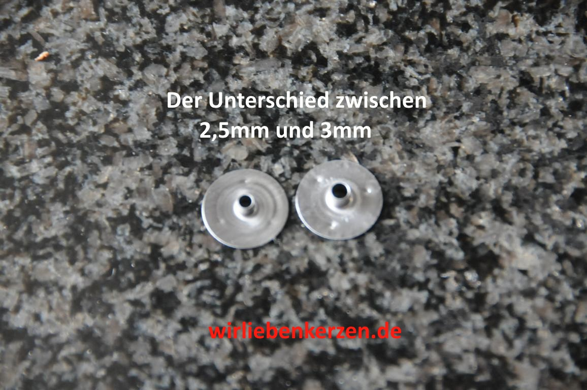 500 Dochthalter 3mm