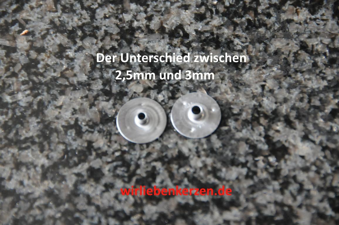 500 Dochthalter 2,5mm