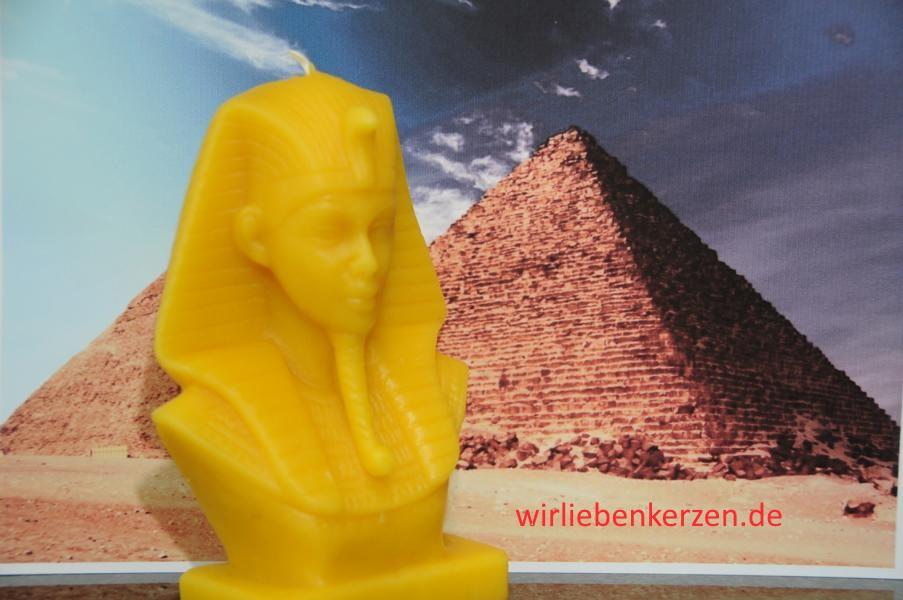 Designkerze Tutanchamun