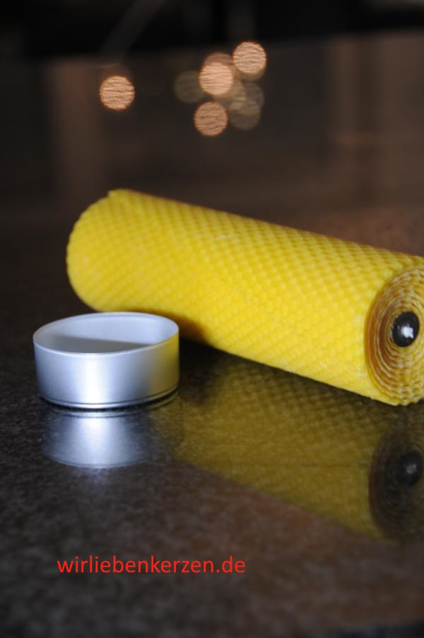 Stumpenkerzen 200 x 56 mm 100% Bienenwachs Stückpreis