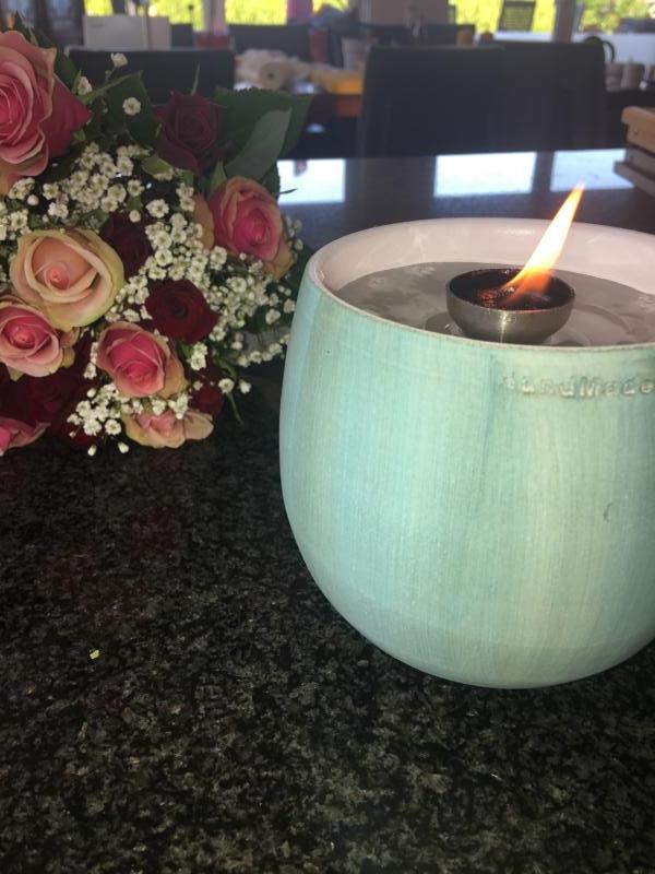 Silbernes Schmelzlicht ca. 1,1 kg auch Indoor