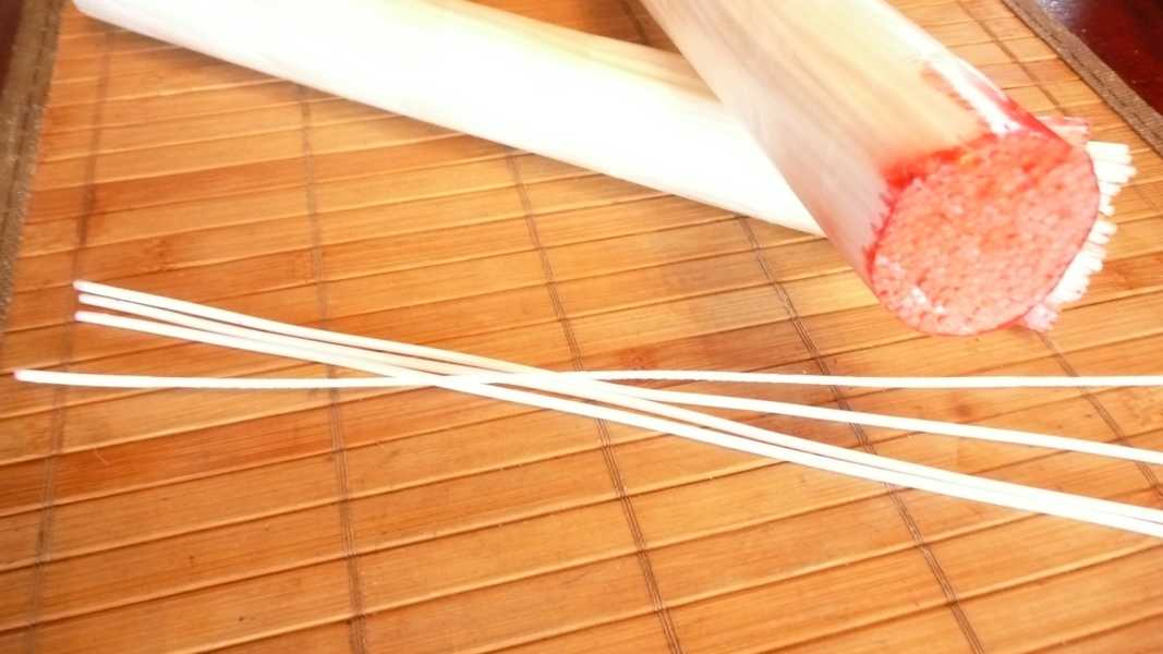 Gewachste Dochte RD3   22,5 cm für 35mm-45mm Kerzendurchmesser