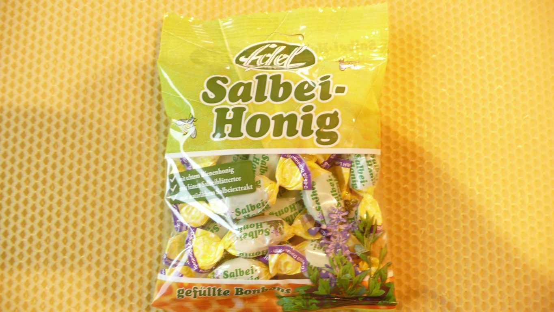 Salbei Honig Gefüllte Honig Bonbons 100 g MHD