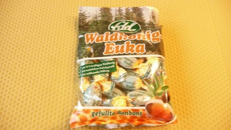 Walldhonig Euka Gefüllte Honig Bonbons 100 g MHD