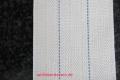 Lampendocht aus 100% Baumwolle 90 mm Breite hart
