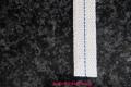 Lampendocht aus 100% Baumwolle 17 mm Breite hart