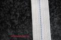 Lampendocht aus 100% Baumwolle 30 mm Breite hart