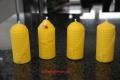 4 Motiv Kerzen 100% Bienenwachs