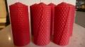Rote Kerzen 100% Bienenwachs 105 x 47 mm (Stückpreis)