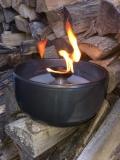 Riesiges Schmelzlicht Farbe Stahlgrau ca. 3,9 kg / 2 kg Wachs