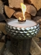 Großes silbernes Schmelzlicht ca. 2,75 kg